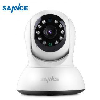 SANNCE 720P IP Camera Nachtzicht Met IR Filter Binnen 1MP Draadloze CCTV Bewakingscamera Baby Monitor