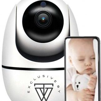 HD Wifi Babyfoon met Camera 688RS - Bewakingscamera - iOS/Android App - Wit