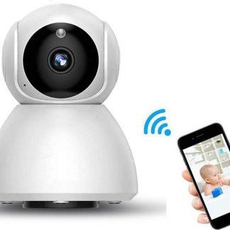 IP-camera met bewegingsdetectie - babyfoon - draadloze camera met wifi ondersteuning + app