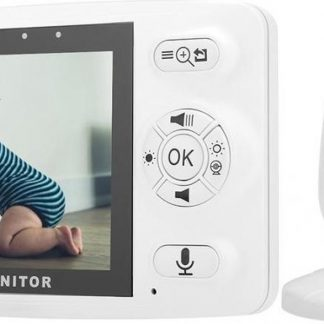 Nuki Easy Babyfoon met Camera - Full HD - Direct te gebruiken
