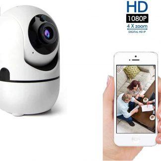 SUNBIRD IP-camera met bewegingsdetectie - babyfoon - draadloze camera met wifi ondersteuning + app