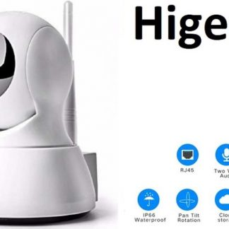 Slimme HD Wifi Babyfoon | Met App | Luisteren en Terugpraten | Bewakingscamera | Babyfoon Met Camera | Babyphone WiFi | Higestone