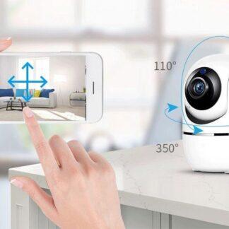 *Babyfoon Met Camera - Beweegdetectie - Met App - WiFi - Smart Camera - Opslag In Cloud Of SD - Babyfoon - Webcam