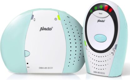 Alecto Baby DBX-85 Full Eco Dect Babyfoon - mint