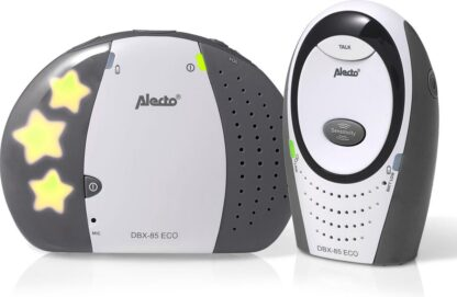 Alecto Baby DBX-85 LIMITED Full Eco Dect Babyfoon - grijs