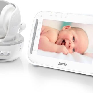 Alecto Baby DVM-200 Babyfoon met camera - Grijs/Wit