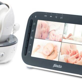 Alecto Baby DVM-200 Babyfoon met camera - Wit/Antraciet