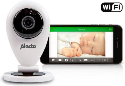 Alecto DVC-105IP Babyfoon met camera - Wit