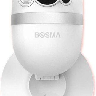 BOSMA CapsuleCam Small | Geschikt als babyfoon & huisdiercamera | tweekanaals audio met nachtvisie en Smart Home app