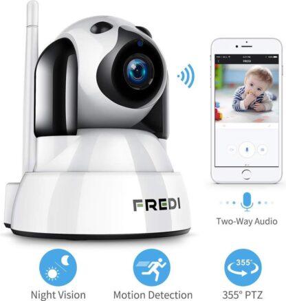 Babyfoon Met Camera - Babyfoon Met Camera En App - Babyfoon met Wifi - Hond