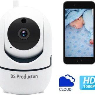 Babyfoon Met Camera - Beweegdetectie - Met App - WiFi - Smart Camera - Opslag In Cloud Of SD - BS Producten - Babyphone - Webcam