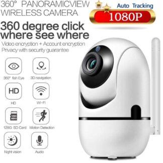 Babyfoon - bestverkocht - beveiligingscamera - babyfoon met camera - Baby Camera - 2 Megapixel Full HD - Tweerichtingscommunicatie - Bewegingsdetectie - Night vision - Rotatie pan/tilt - Gratis App