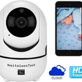 Babyfoon met camera - WiFi - Tweerichtingsaudio - Beveiligd