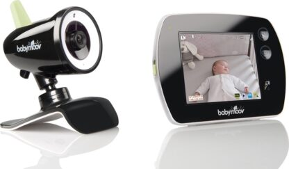 Babymoov Video Touch Screen - Babyfoon - Zwart