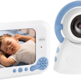 Chicco Video Deluxe Babyfoon - Wit/Blauw - 2-delig