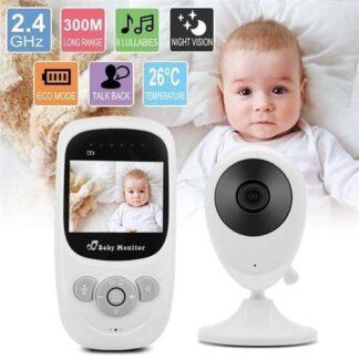 Draadloze Babyfoon - Babyfoon met camera - Premium Baby Monitor - Temperature Detection - Nachtzicht
