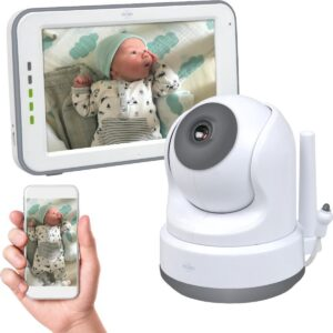 ELRO BC3000 Babyfoon Royale - met 12,7 cm Touchscreen Monitor HD- & App