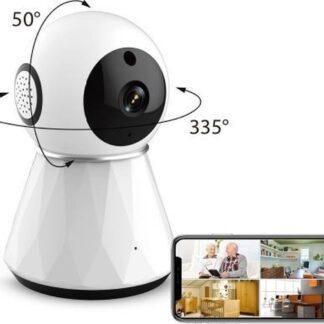 IMAQ IQ- 1020 WIFI Camera | Babyfoon met camera en app - Baby born | 1080P Full HD IP camera beveiliging | APP IOS Android | Beveiligingscamera binnen