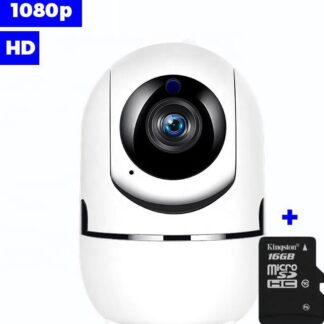IP Camera - Met SD Kaart - 1080P WIFI Smart Camera - Beveiligingscamera - Babyfoon - WiFI
