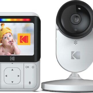 """Kodak C220 Wifi babyfoon met camera - 2.8"""" kleurenscherm - voor thuis én onderweg"""