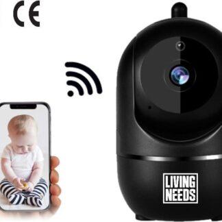 Living Needs Baby Camera - Babyfoon met Camera - Spraakfunctie - Bewegingsdetectie.