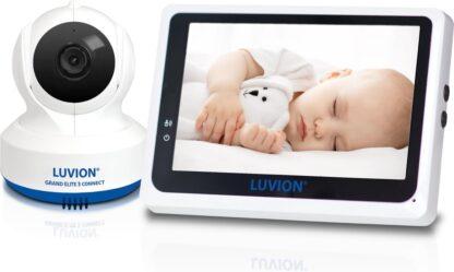 Luvion Grand Elite 3 Connect HD Wifi Babyfoon met Camera én App - Premium Baby Monitor