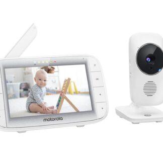 """Motorola Babyfoon MBP485 - 5"""" Kleurenscherm - Terugpraatfunctie"""