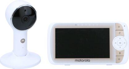"""Motorola Babymonitor MBP950 HALO Lux85 - Babyfoon - met Wifiverbinding - Flexibele Camera - 5"""""""