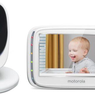 """Motorola Comfort50 babyfoon - 5"""" kleurenscherm - infrarood nachtzicht"""