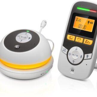 Motorola MBP169 babyfoon - draagbaar - nachtlampje - terug praten