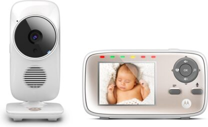 Motorola MBP667 Connect Wifi Babyfoon met camera