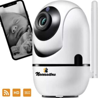 Necessitas Smart Camera met Cloud Storage - Babyfoon met HD WiFi camera - iOS & Android - Huisdierencamera