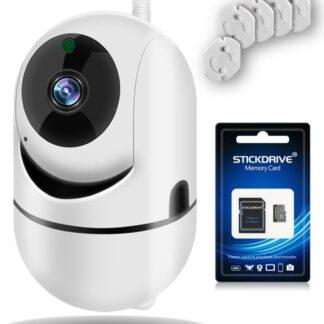 Wifi Babyfoon met Camera via App - Beveiligingscamera met infrarood - 2-weg Audio - Nachtvisie