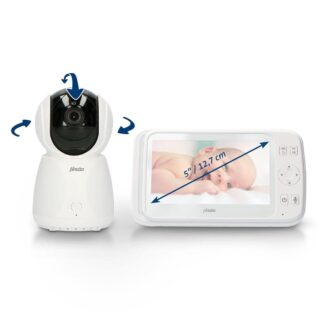 """Alecto Baby DVM-275 Babyfoon met camera - extra groot 5"""" scherm"""