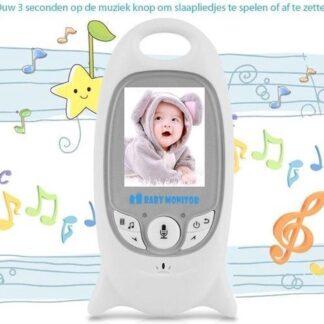 Babyfoon met camera - Terugspreekfunctie - Slaapliedjes