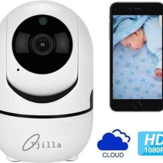 Babyfoon met camera Tjilla® - WiFi - Tweerichtingsaudio - Beveiligd