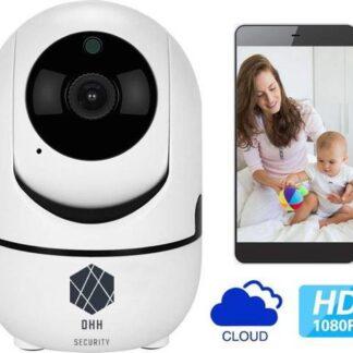 DHH Security Babyfoon - Nachtvisie - Terugspreekfunctie - iOS + Android App Besturing
