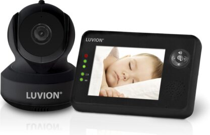 Luvion Essential Limited Black Edition Babyfoon met camera - Babyphone - Premium Baby Monitor
