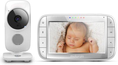 "Motorola MBP-48 Babyfoon met camera 5.0"""