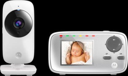 "Motorola MBP-482 Babyfoon met camera 2.4"""