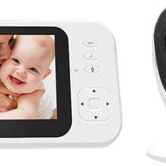 Nuki 7 Easy Babyfoon met Camera - Full HD - Direct te gebruiken