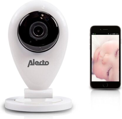 Alecto IVM-100 Babyfoon met camera - Wit