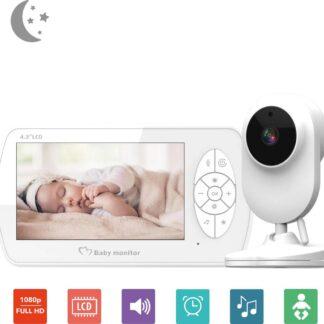 Babyfoon met Camera - 4.1'' scherm - Baby Camera - Monitor - Foon - Babyfoons