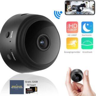 Camera Dashcam voor auto Actioncam Babyfoon  Spycamera  spycam Incl. 32GB SD kaart