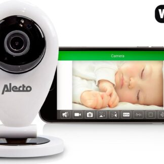 Alecto DVC-105IP Babyfoon met camera - Wit