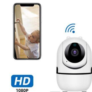 BabySecure Babyfoon - Babyfoon met Camera & App - Beveiligingscamera voor Binnen - NL iOS/Android App