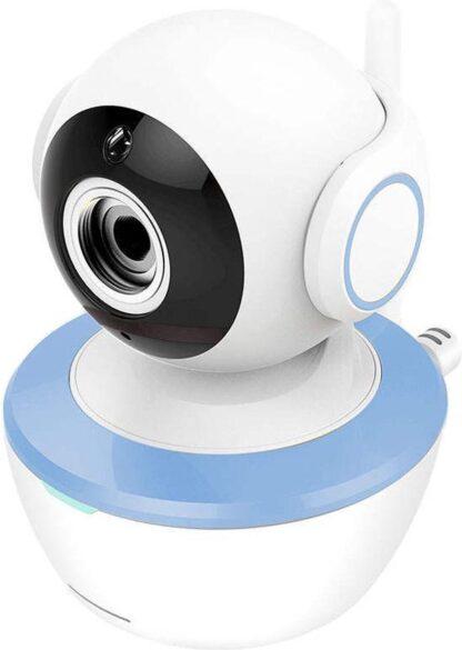 Babymonitor 5 inch Babyfoon met 360˚ camera - Nachtvisie / Slaapliedjes / Temperatuurdetectie / Voeding alarm - 50 meter bereik binnen / 300 meter bereik buiten - Wi-Fi