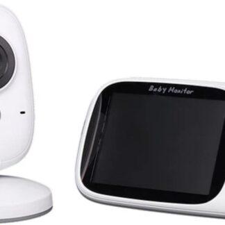 BeastCode - SafeSleep - Babyfoon - Babyfoon met camera - Temperatuur - Slaaplied - Nachtzicht - Bewegingssensor - Microfoon