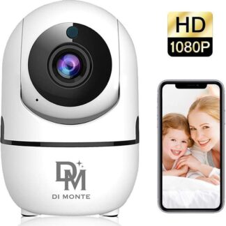 Bewakingscamera - Beveiligingscamera - Babyfoon - Babyfoon Met Camera - App - Set - Motion en Geluid Detectie - Nachtvisie - Two-Way Audio - IOS + Android App Besturing - Babyphone - Securitycamera
