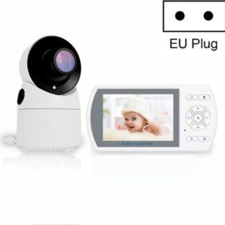 Direct-security 8003ZH 3,5-inch groter scherm Draadloze digitale bewakingscamera Babycarrièrefoon Draadloze babyfoon (EU-stekker)
